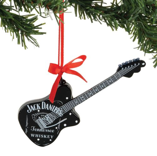 Department 56 Jack Daniel's Guitar Ornament